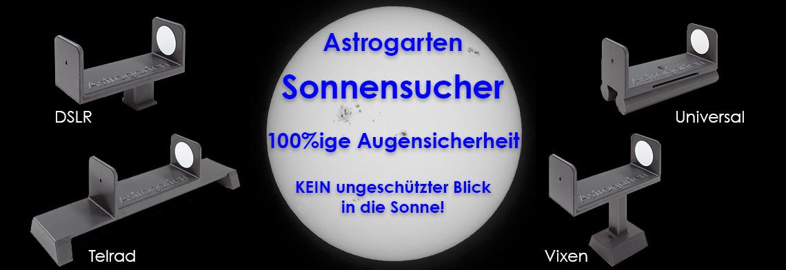 Astrogarten Sonnensucher - 100%ige Augensicherheit!