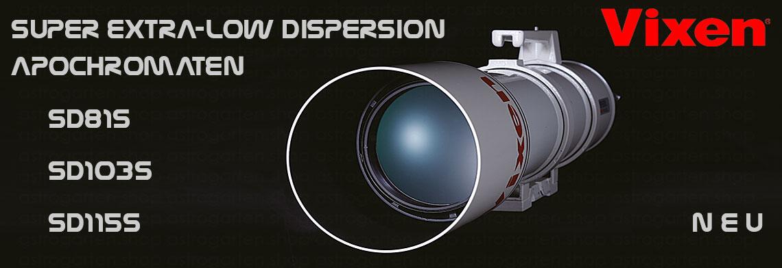 Vixen SD Apochromate - eine leichtgewichtige Referenzklasse!