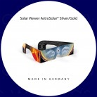 Sonnenfinsternis-Brille (Solar Viewer AstroSolar® Silver/Gold)
