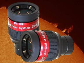 LUNT H-alpha optimiertes 27mm Okular