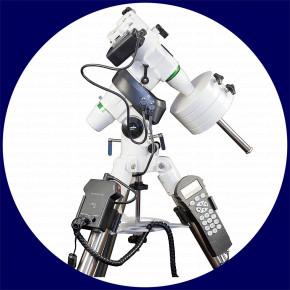 Sky-Watcher EQ5 PRO SynScan™ Äquatorial GoTo-Montierung mit Edelstahlstativ