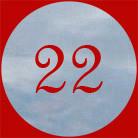22. Adventstürchen