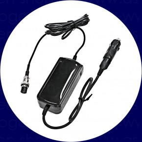 Power converter 12V/24V 5Ah with car plug for GM 1000 and 2000
