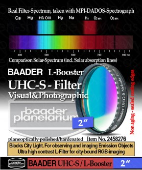 """Baader UHC-S/L-Booster - Filter 2"""""""