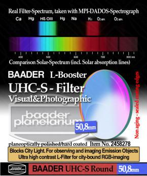 Baader UHC-S/L-Booster - Filter 50.8mm Rund