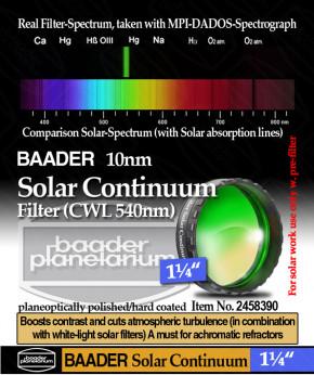 """Baader Solar Continuum Filter 1¼"""""""