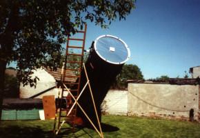 Baader AstroSolar™ Sonnenfilterfolie VISUELL 117x117cm