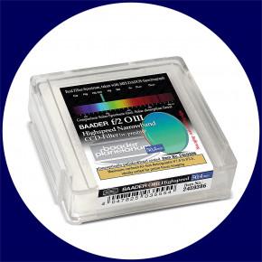Baader f/2 Highspeed Filtersatz 50.4mm: H-alpha, O III, S II