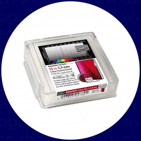 Baader H-alpha 3.5nm Ultra-Schmalband (Narrowband) Filter 65x65mm - CMOS optimiert
