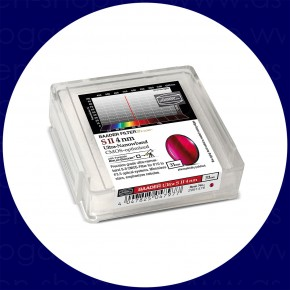 Baader S-II 4nm Ultra-Schmalband (Narrowband) Filter 31mm - CMOS optimiert