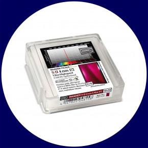 Baader S-II 4nm Ultra-Schmalband (Narrowband) f/2 Highspeed Filter 50x50mm - CMOS optimiert