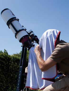 Astrogarten Beobachtungstuch - Professional (schwarz/weiß)