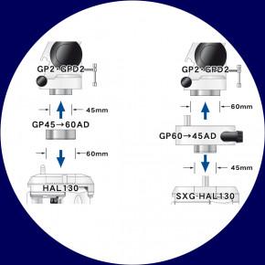 Vixen GP2 parallaktische Montierung