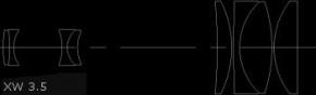 Okular Pentax XW 3.5mm