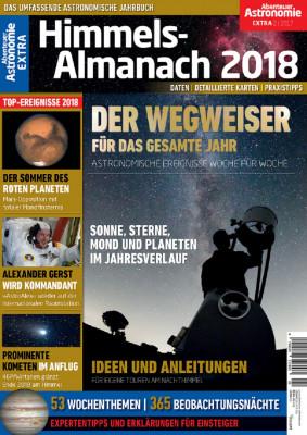 Abenteuer Astronomie EXTRA Himmels-Almanach 2018